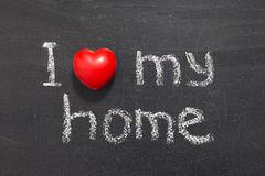 love-my-home-i-phrase-handwritten-school-blackboard-39086740