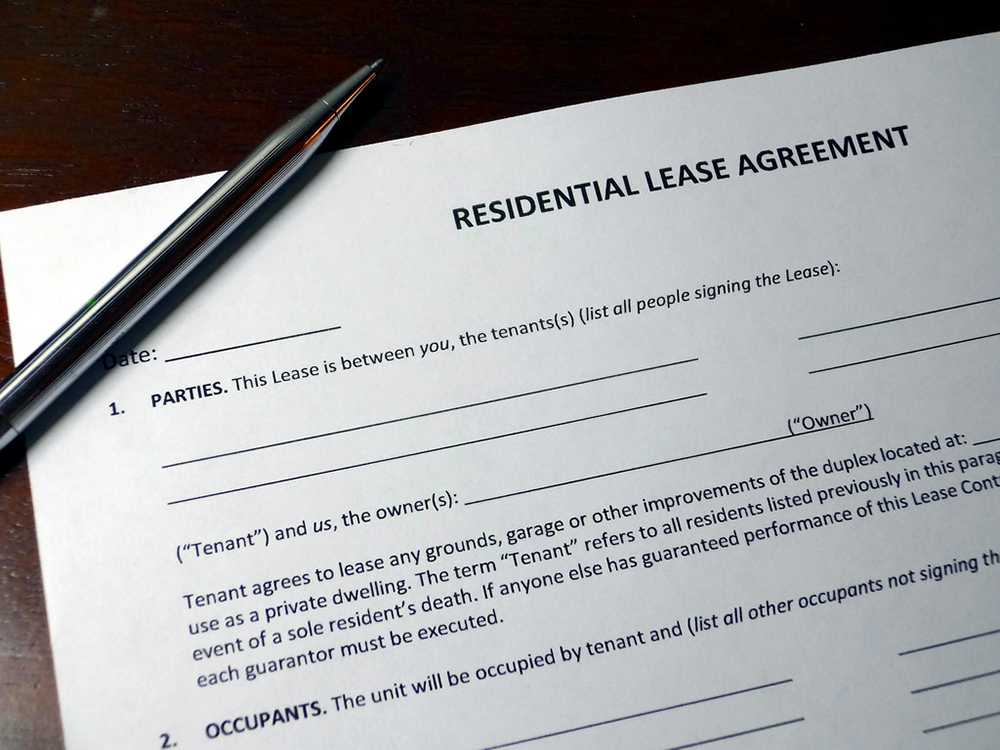Property Manager Residential Lease Agreement